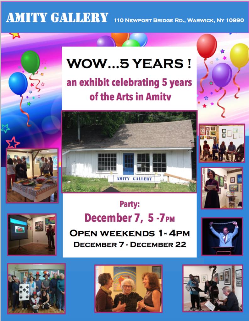 Five years arts celebration
